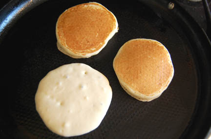 Homemade pancakes   Happy Simple Living