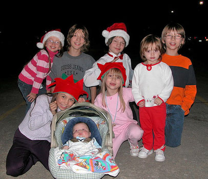 Kids Christmas at Happy Simple Living blog