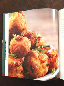 Squash fritters at Happy Simple Living blog