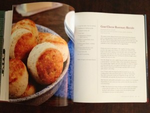 goat cheese biscuits at Happy Simple Living blog