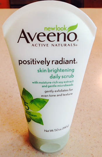 Aveeno Cleanser contains polluting microbeads
