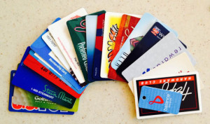 Tips for reducing loyalty rewards cards | Happy Simple Living blog