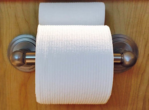 How to use up toilet paper