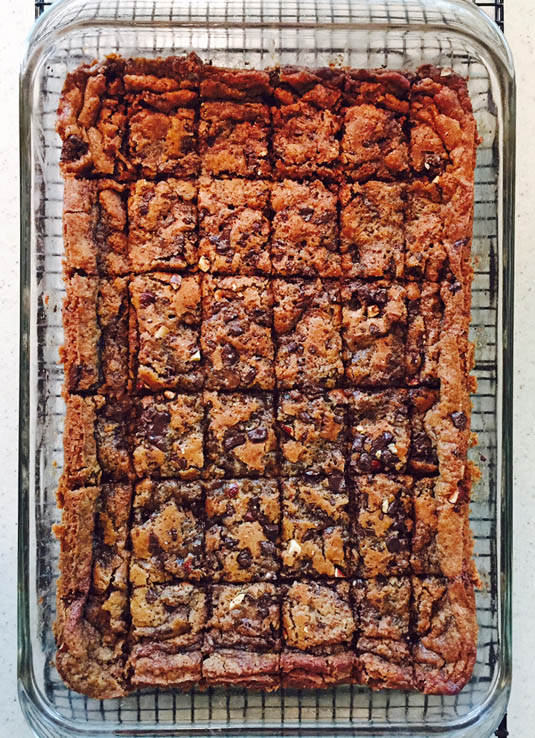 Butterscotch Toffee Brownies