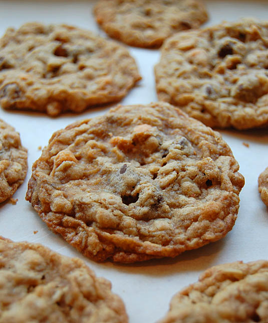 Oatmeal Chocolate Scotchies Cookie recipe | Happy Simple Living