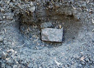Digging through clay soil | Happy Simple Living blog