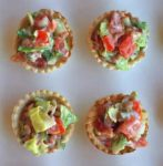 easy BLT cups