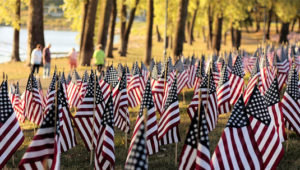 Remembering 9/11 flags