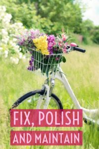 Fix, Maintain and Polish Your Things | January Money Diet