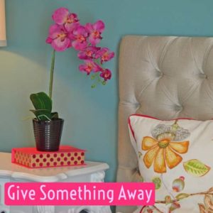 Give Something Away   January Money Diet