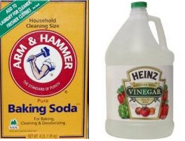 soda vinegar