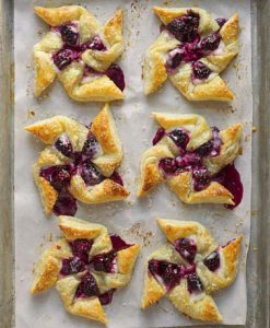 Blackberry pastry recipe