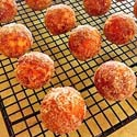 Pumpkin Maple Donut Holes
