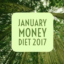 January Money Diet 2017 | Happy Simple Living blog