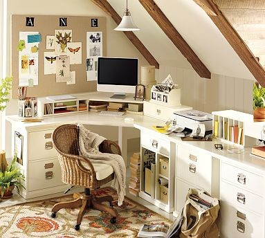 Home Office at Happy Simple Living