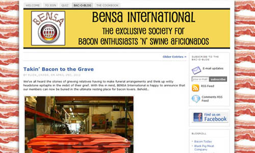 Bensa International for bacon lovers