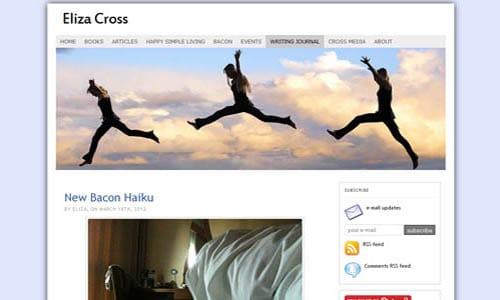 Eliza Cross website