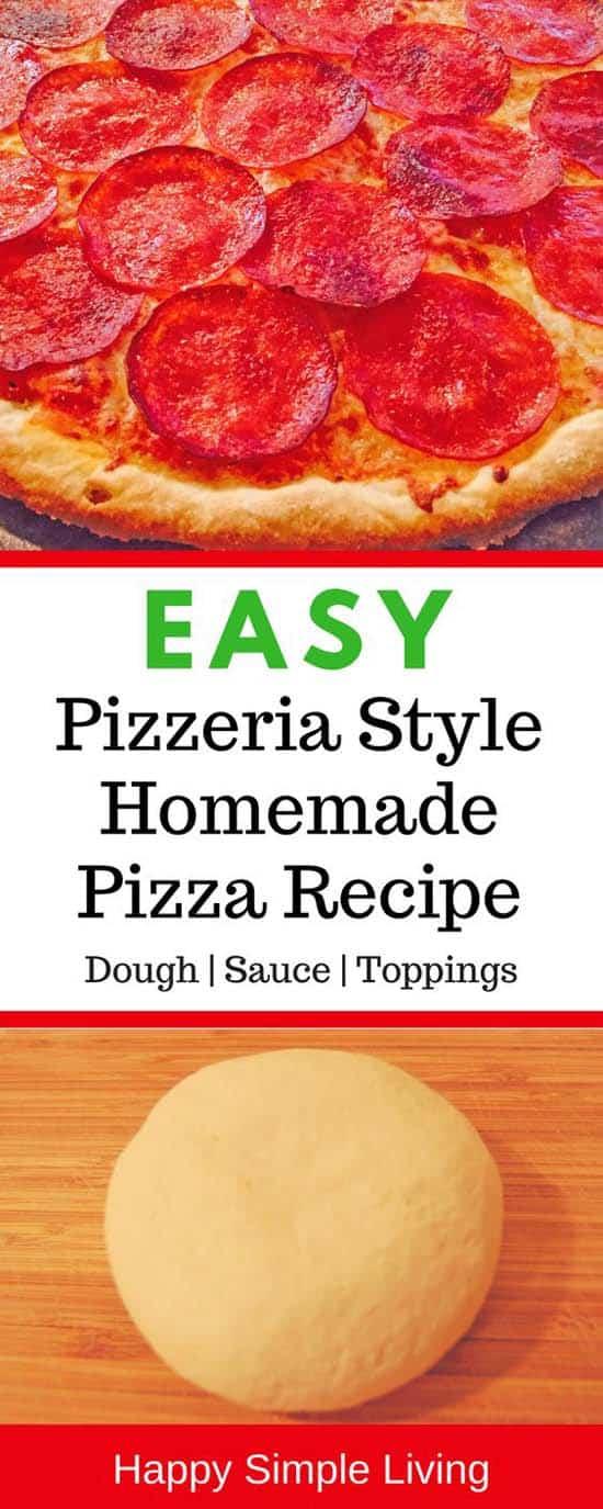 Homemade Pizza Recipe | #pizza #pizzarecipe #pizzadough #pizzasauce