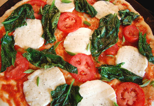 pizza toppings at Happy Simple Living blog