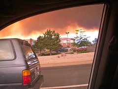 Waldo Canyon Fire at Happy Simple Living