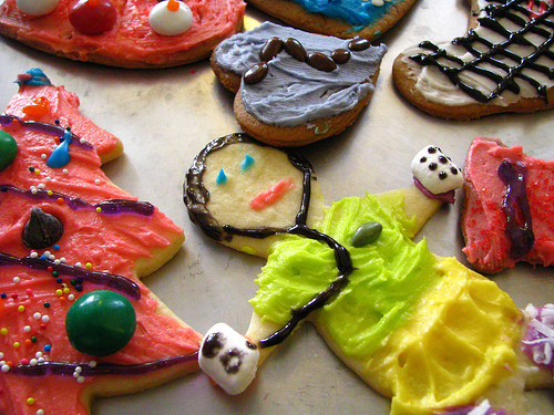 Christmas cookies at Happy Simple Living blog