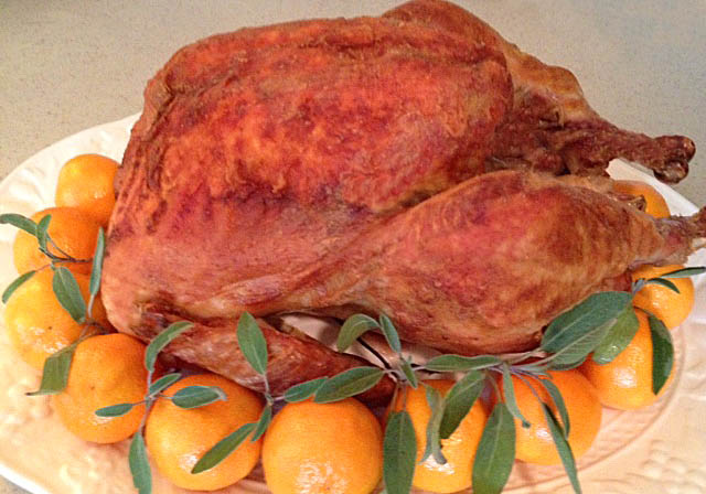 Crispy Roast Turkey Recipe at Happy Simple Living blog