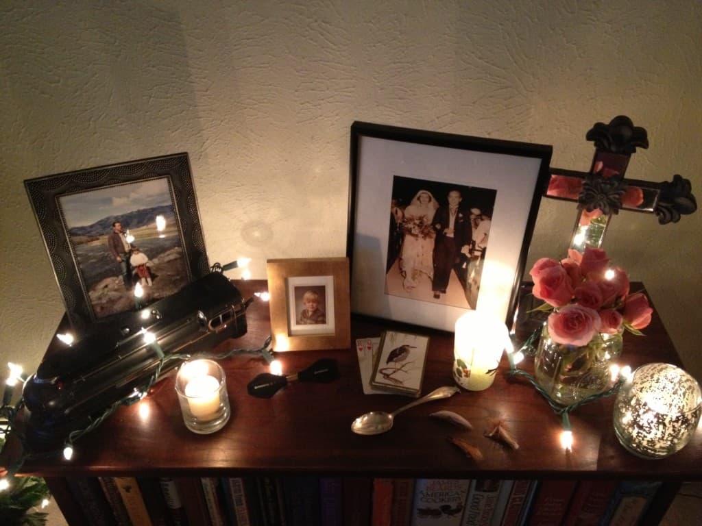 Dia de los Muertos at Happy Simple Living blog
