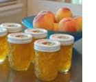 Homemade peach jam at Happy Simple Living blog