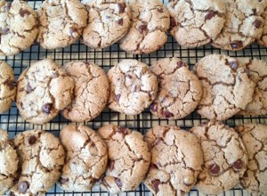 Warm chocolate chip cookies from Happy Simple Living blog