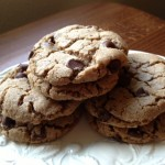 Chocolate chip cookie recipe at Happy Simple Living blog