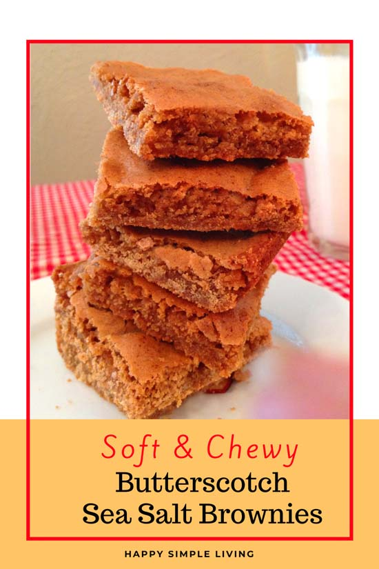 Chewy Butterscotch Brownies   #ButterscotchBrownies #ButterscotchBrowniesRecipe #ButterscotchBrowniesEasy