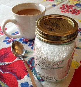 Make homemade sweetener at Happy Simple Living blog