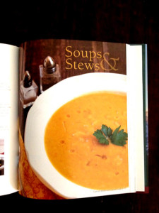 Soup chapter at Happy Simple Living blog