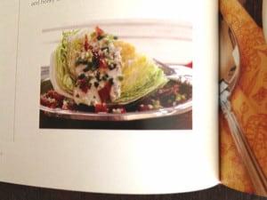 Wedge salad at Happy Simple Living blog