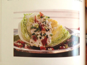 Wedge Salad at Happy Simple Living blog