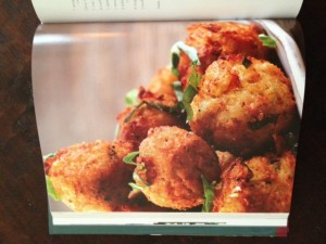spaghetti squash fritters at Happy Simple Living blog
