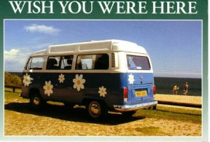 Wish you were here at Happy Simple Living blog