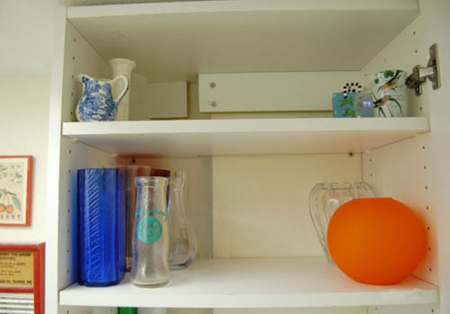 Cleaner cabinet at Happy Simple Living blog