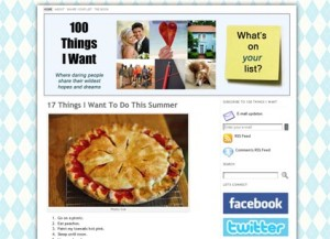 100 Things I Want