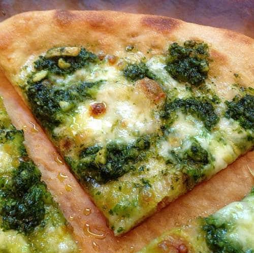 pesto pizza