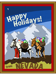 Silly holiday card