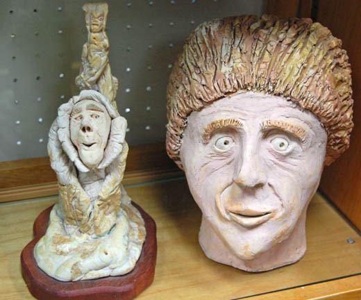 Flea market sculptures