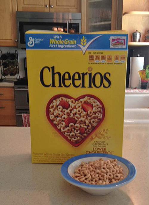 Cheerios Box
