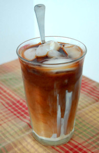 Iced coffee recipe from Happy Simple Living