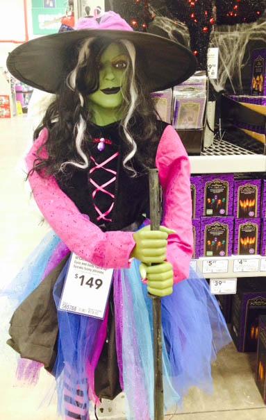 Life size Halloween character