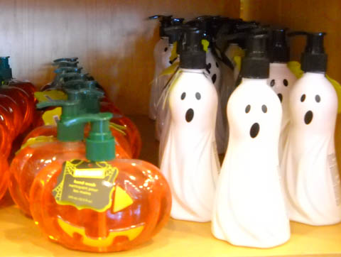 Halloween soap dispensers