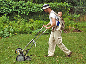 Mow your own lawn