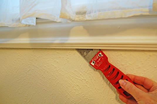 Remove window trim