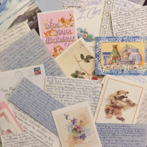 cards and letters from my grandmother