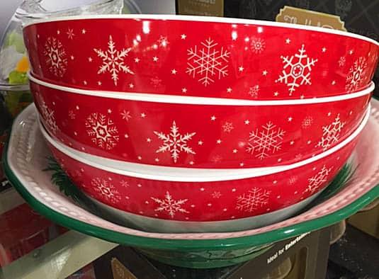 snowflake bowls